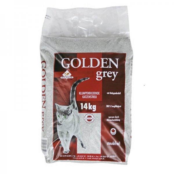Golden Grey Katzenstreu mit Babypuder