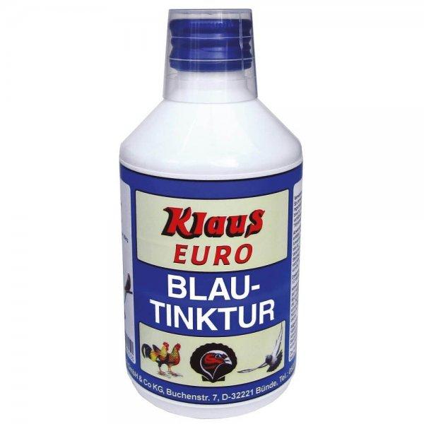 Klaus Blautinktur zur Trinkwasserdesinfektion