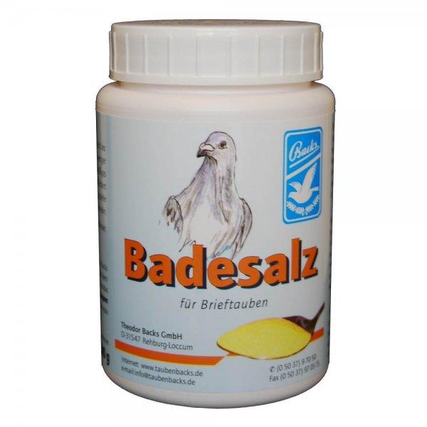 Backs Badesalz für Tauben
