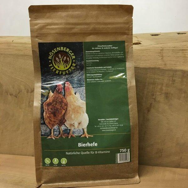 Bierhefe für Hühner und Geflügel
