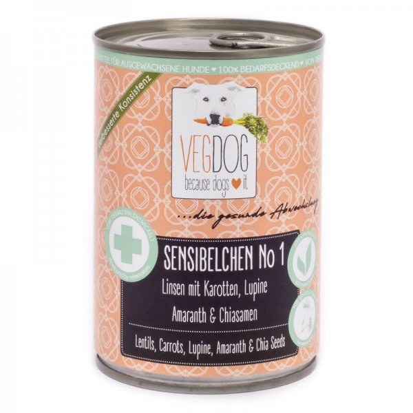 Veganes Futter für sensible Hunde
