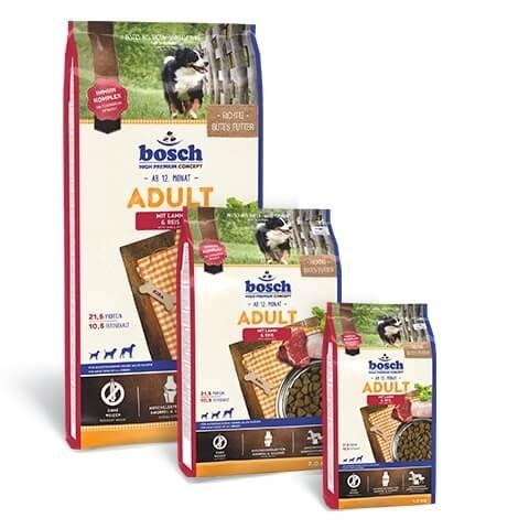 Bosch Hundefutter Lamm und Reis Adult