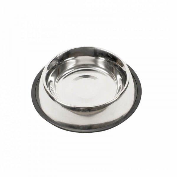 Hundenapf aus Edelstahl mit Anti-Rutsch Ring