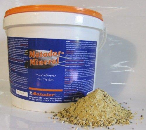 Matador Mineralien und Muschelkalk für Tauben