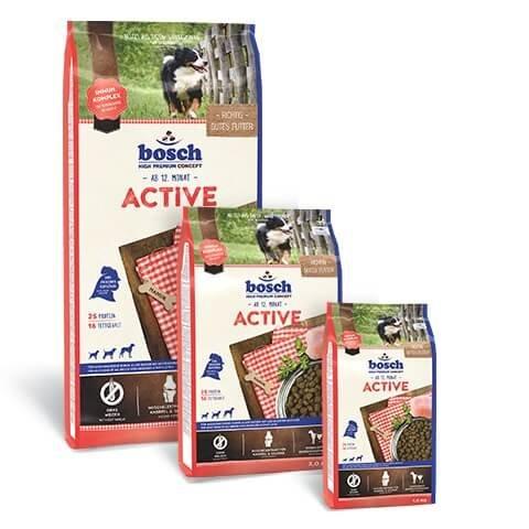 Bosch Active bei erhöhter Aktivität