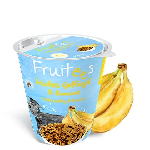 Bosch Fruitees mit Geflügel und Banane