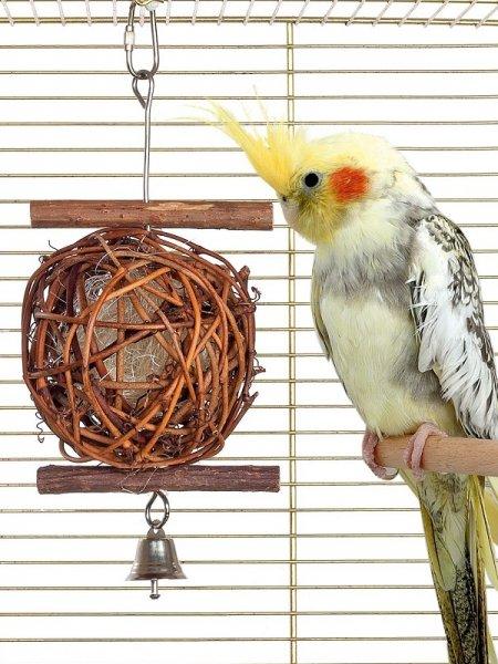 Karlie Vogelspielzeug Korbball